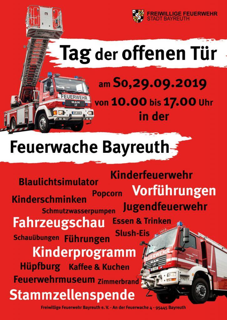 FFW Bayreuth Tag der offenen Tür @ Ständige Wache Bayreuth
